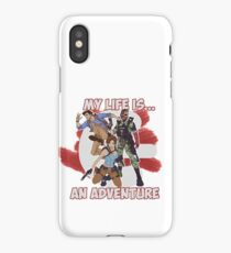 My life is ... an adventure. iPhone Case