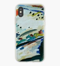 Romantic Landscape by Wassily Kandinsky iPhone Case