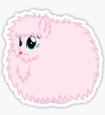 Fluffle Puff Stare Sticker