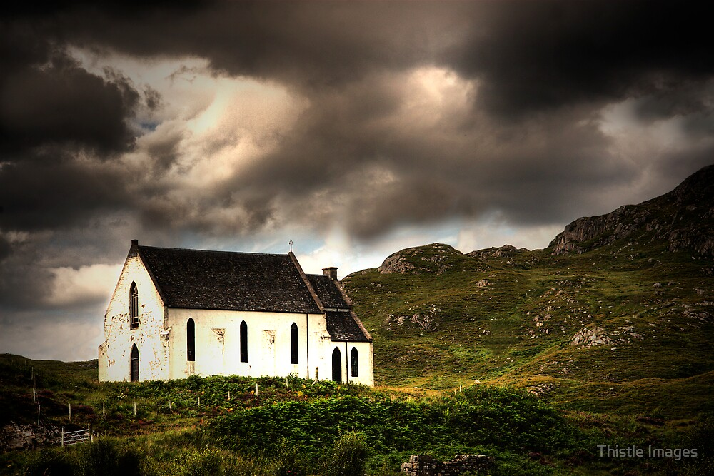 A wee church! by Thistle Images