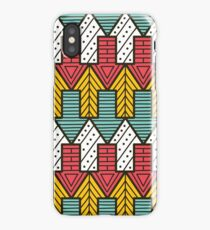 Funky Arrows Pattern iPhone Case