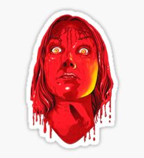 carrie's face Sticker