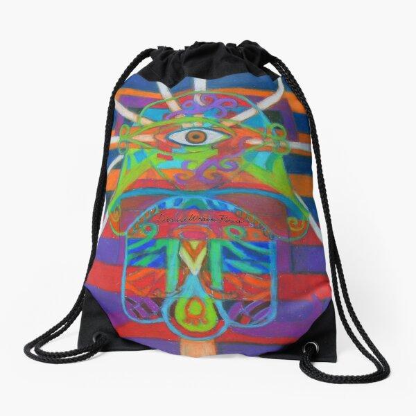Hexagram 14-Ta Yu (Wealth) Drawstring Bag