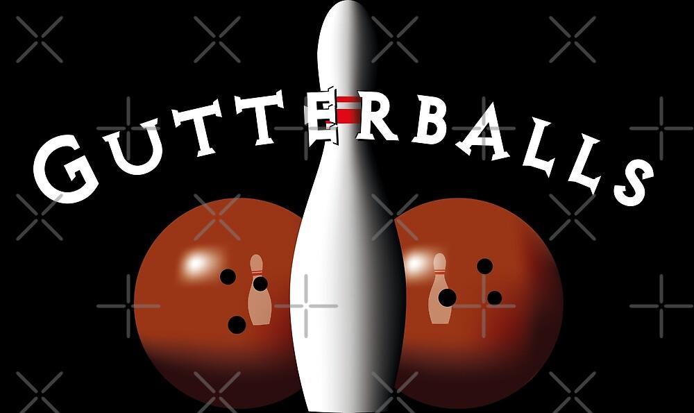 The Big Lebowski - Gutterballs by ComptonAssBenny
