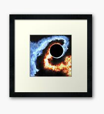 A Song of Fire and Ice Framed Print
