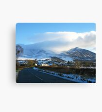 Lake District National Park #3 Canvas Print