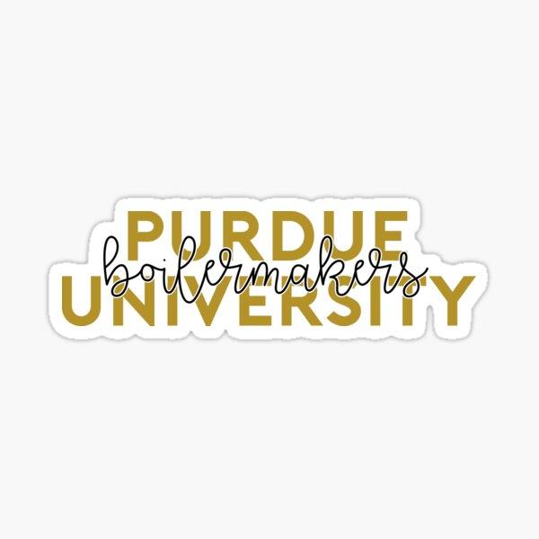 Purdue - Style 8 Glossy Sticker