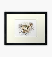 Gallimimus Framed Print
