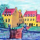 Culross Palace by Liz  McGraw
