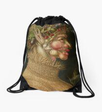 Summer by Giuseppe Arcimboldo Drawstring Bag