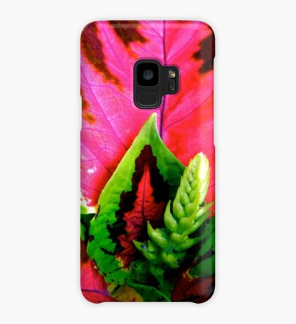 Coleus Plant Case/Skin for Samsung Galaxy