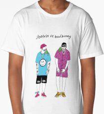 Balvin and Bad Bunny Long T-Shirt