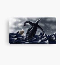 La Scie- monstre marin Impression sur toile