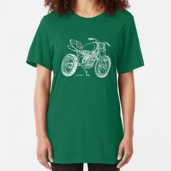 Supercharged Street Tracker Slim Fit T-Shirt