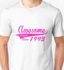 Awesome since 1993 Unisex T-Shirt