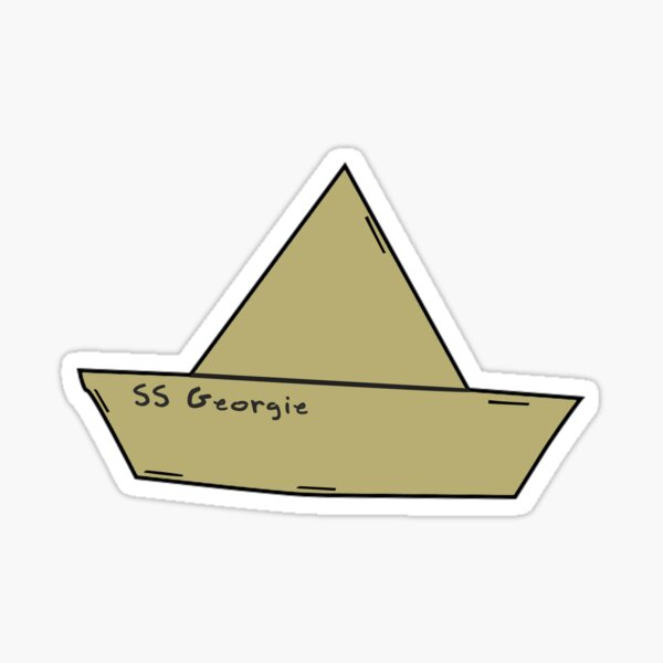 SS Georgie- It Sticker