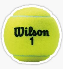 Wilson Tennisball Sticker