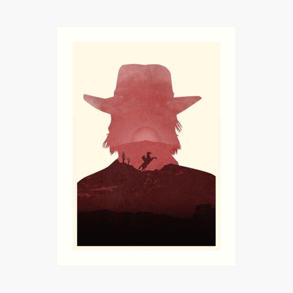 Red (No Text) Art Print