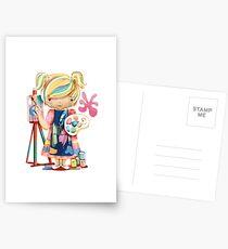 The Little Artist Postcards