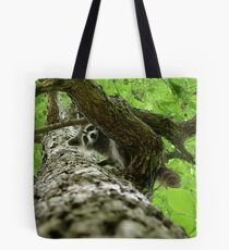 Taking Tree Climbing to the Next Level Tote Bag