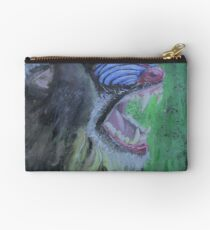The yawning mandrill Studio Pouch