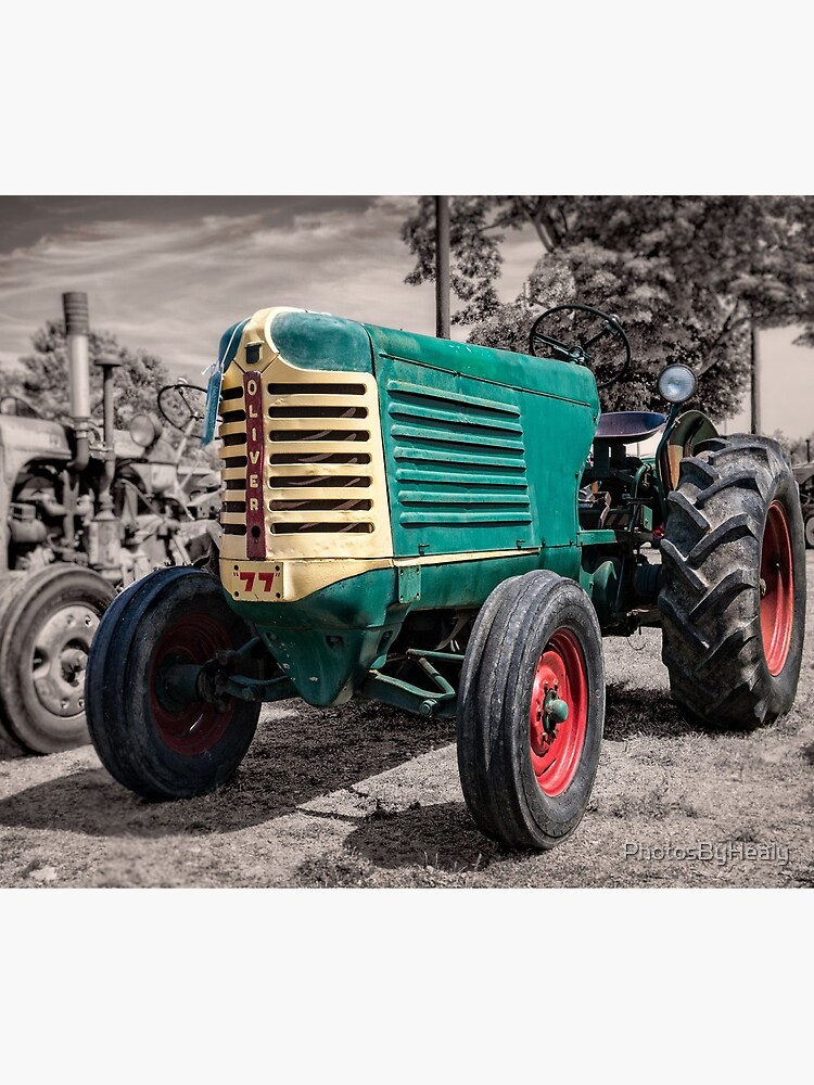 1948 Oliver 77 tractor by PhotosByHealy