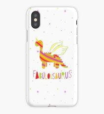 Fabulousaurus iPhone Case/Skin