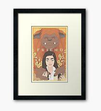 Ludo, Friend Framed Print