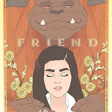 Ludo, Friend by sephiramy