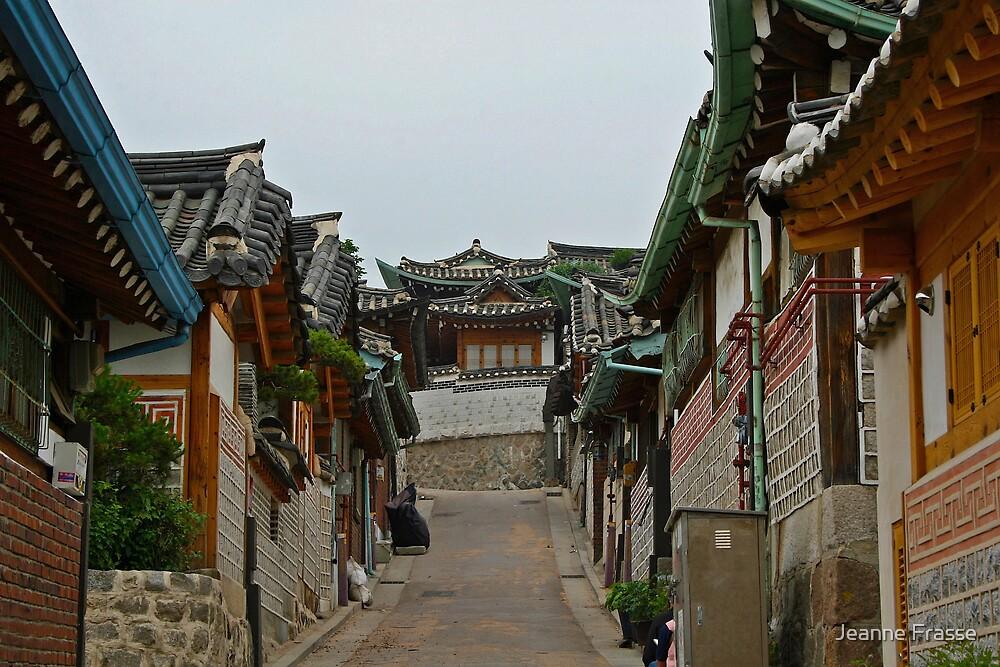 Bukchon Neighborhood, Seoul by Jeanne Frasse