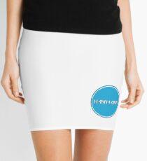 W1 Blue Mini Skirt