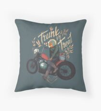 Trunk or Treat Throw Pillow