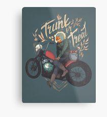Trunk or Treat Metal Print