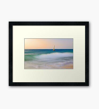 Cottesloe Beach Pylon - Western Australia  Framed Print