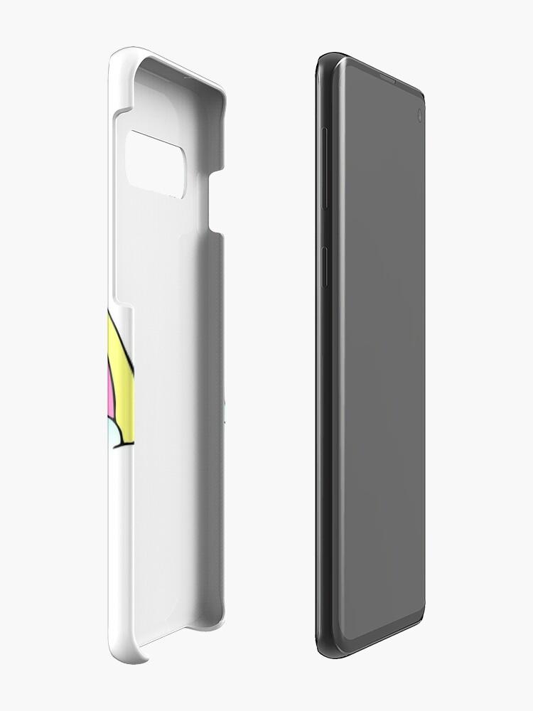 """Vista alternativa de Funda y vinilo para Samsung Galaxy """"Go To Hell"""" Pastel Goth Unicornio"""