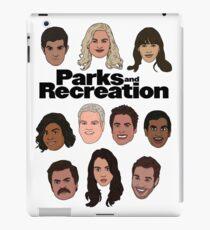 Parks & Recreation Crew iPad Case/Skin