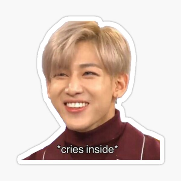 Bam Bam Crying Sticker