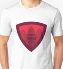 Watchtower Shield- Red Sky at night, Shepherds delight Unisex T-Shirt