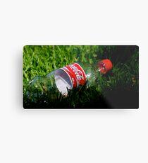 Coke Bottle Metal Print