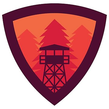 Watchtower Shield- Firewatch edition 2 by dredlocked-sage