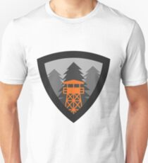 Watchtower Shield- Beacon in the Fog Unisex T-Shirt