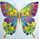 Butterfly coloring by Manon Boily