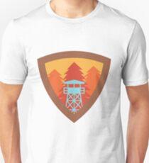 Watchtower Shield- Autumn Sunset Unisex T-Shirt