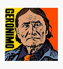 GERONIMO-COLOUR Photographic Print