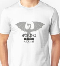 Spoiling Is Not A Crime. Camiseta Divertida T-Shirt