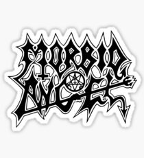 Band Morbid Angel Logo Black Sticker