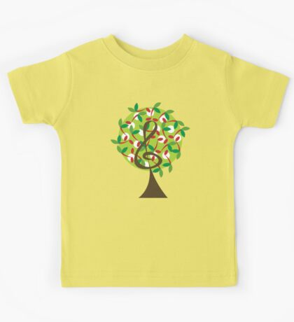 Musical Cherry Notes Tree Kids Clothes