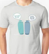 Shampoo vs. Conditioner Unisex T-Shirt