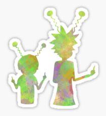 Rick and Morty - Peace among worlds  Sticker