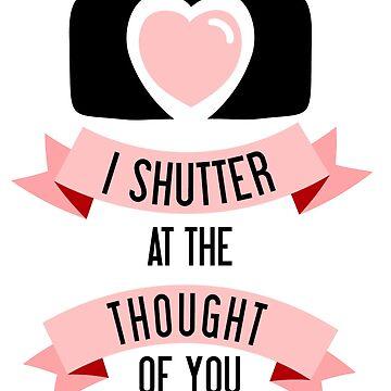 Ich 'Shutter' bei dem Gedanken an dich von amygrace